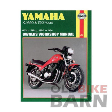 Yamaha 80-84 XJ650/750 Repair Manual