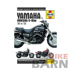 Yamaha 85-03 VMX1200 Repair Manual
