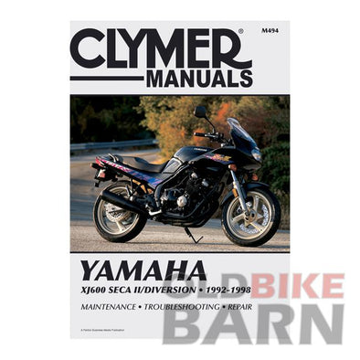 Yamaha 92-98 XJ600 Repair Manual