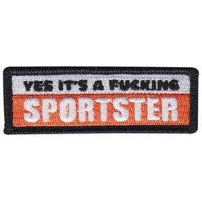 Yes It's A Fucking Sportster Patch