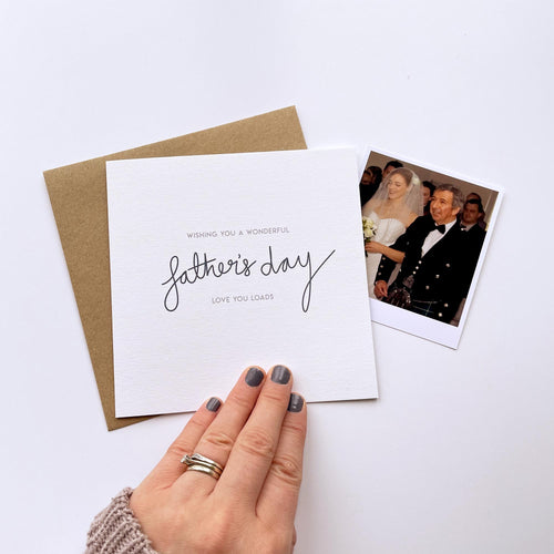Greeting Card | Father's Day – Love You Loads