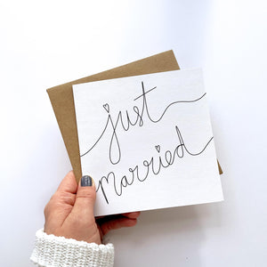 Greeting Card | Just Married