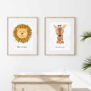 'Stand tall & proud' art print