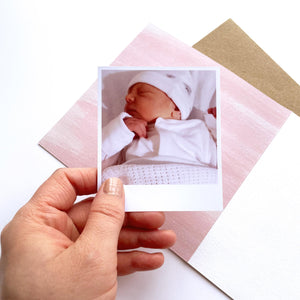 Greeting Card | Personalised New Baby Girl