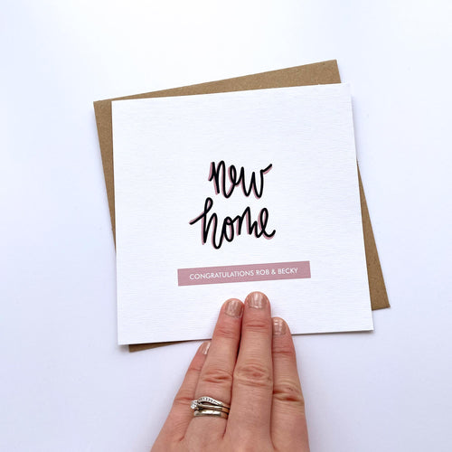 Greeting Card | Personalised New Home