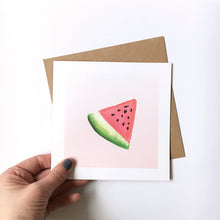 Load image into Gallery viewer, Watermelon card
