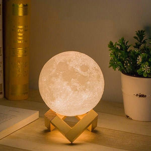 The Galactic Moon Lamp