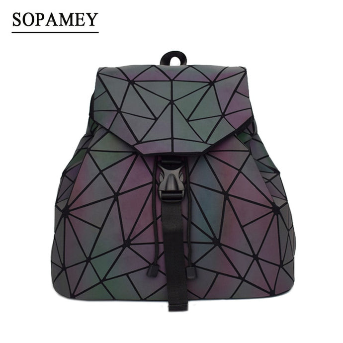 The Reflective Holographic Backpack