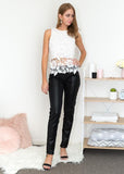 JESSIE LEATHER PANTS