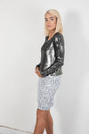 MEDUSA SEQUIN REVERSIBLE TOP / JACKET