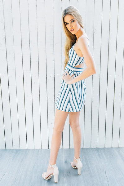 AVA CUT-OUT DRESS