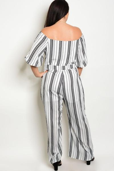 HEATHER MONOCHROME JUMPSUIT
