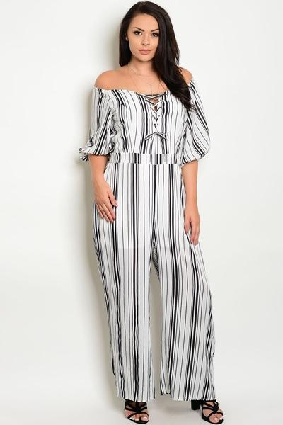 bc1fa2ab830 HEATHER MONOCHROME JUMPSUIT – Rapture Boutique