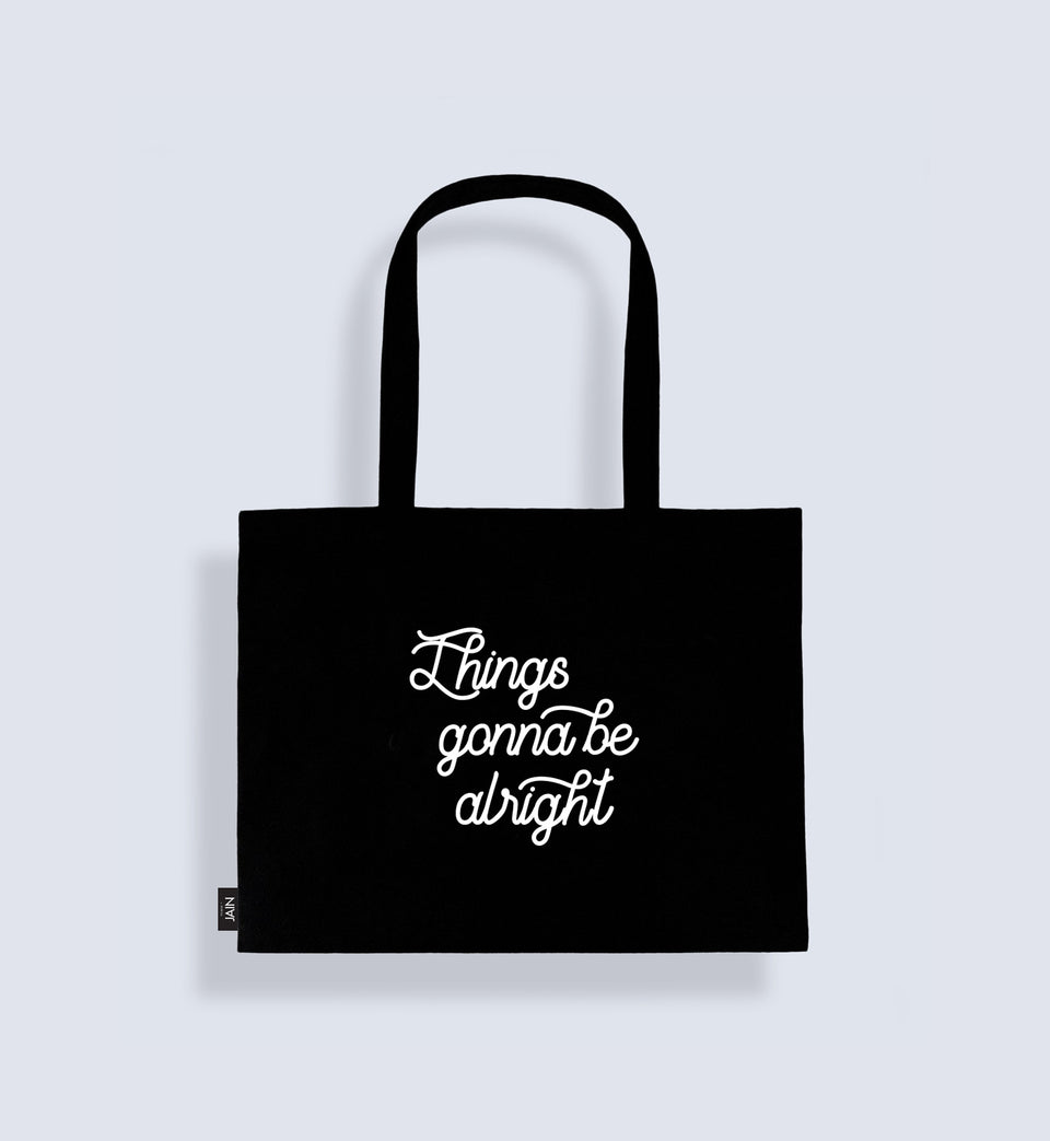 Jain Tote Bag 'Things gonna be alright'