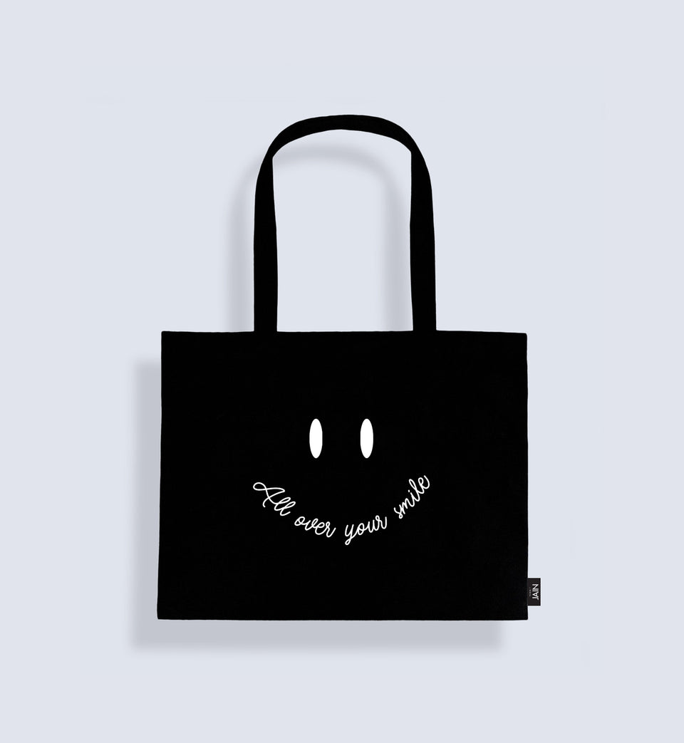 Jain Tote Bag 'All over your smile'