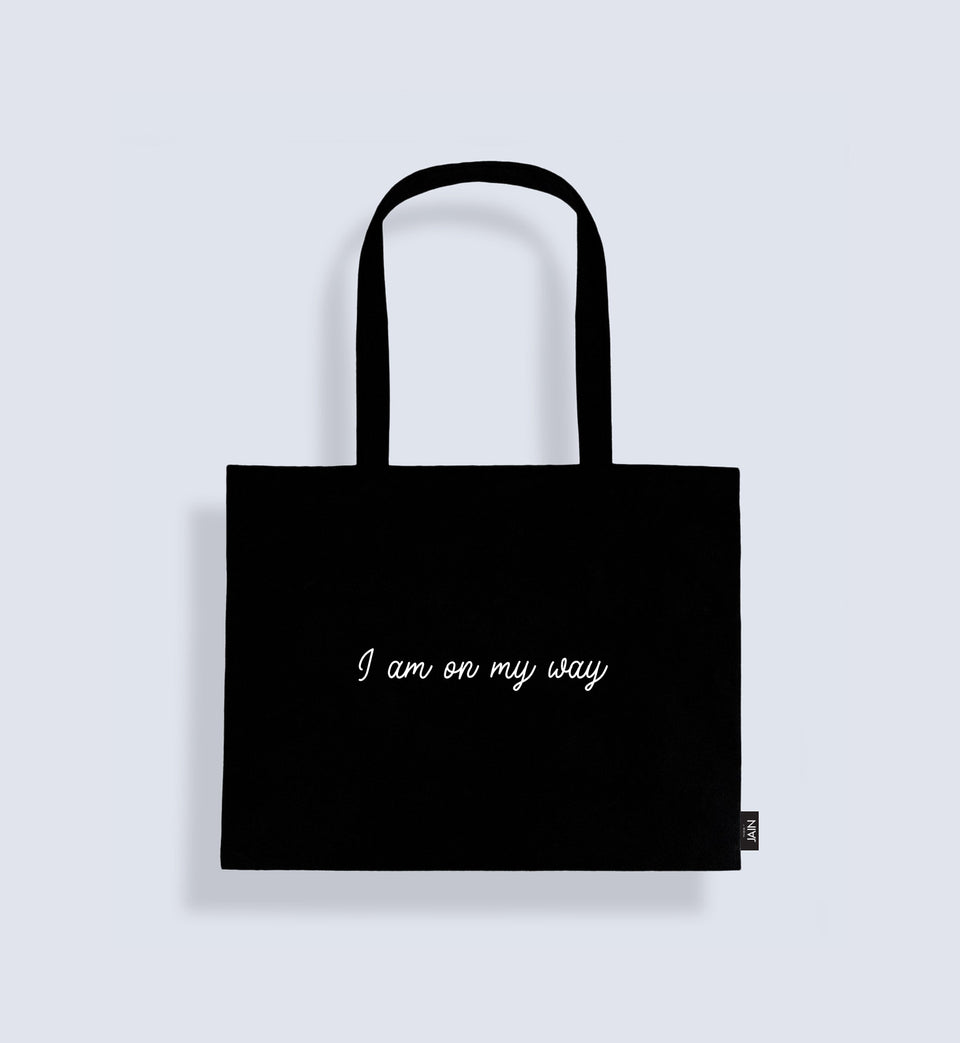 Jain Tote Bag 'I am on my way'