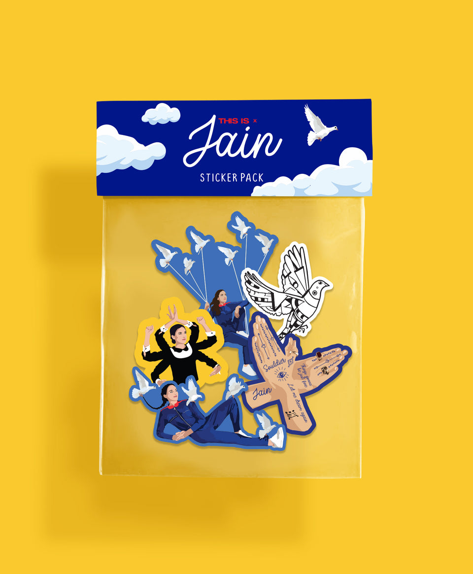 Jain Sticker Pack