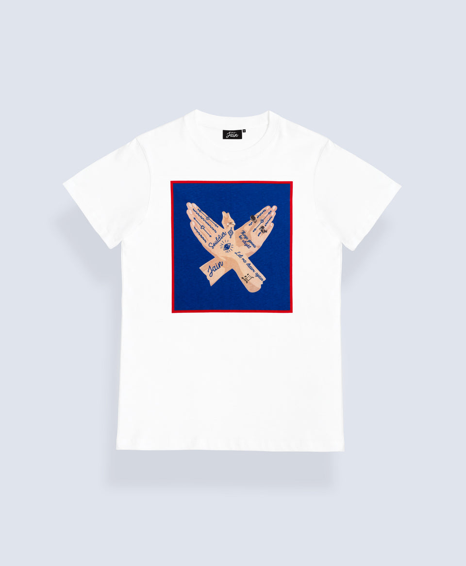 Jain 'Souldier' T-shirt White