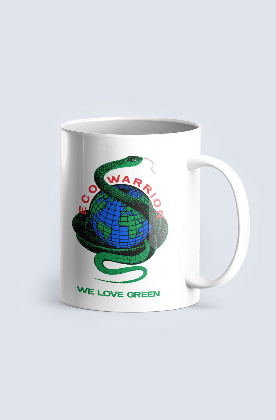 We Love Green Mug
