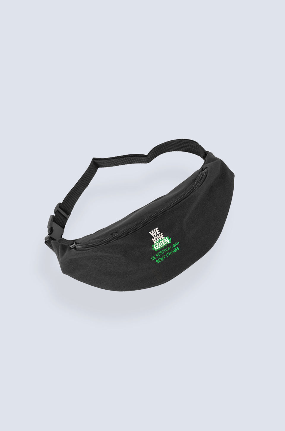 We Love Green Logo Belt Bag