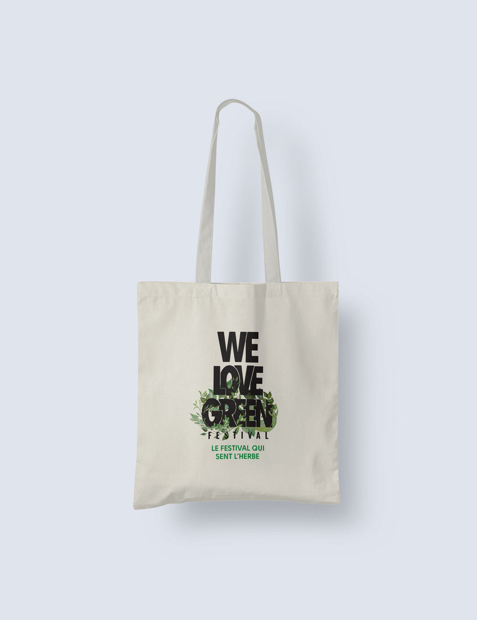 We Love Green Logo Tote Bag