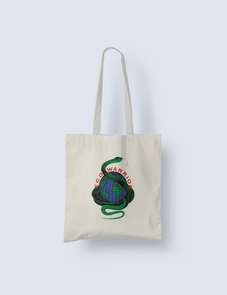 We Love Green Eco Warrior Tote Bag