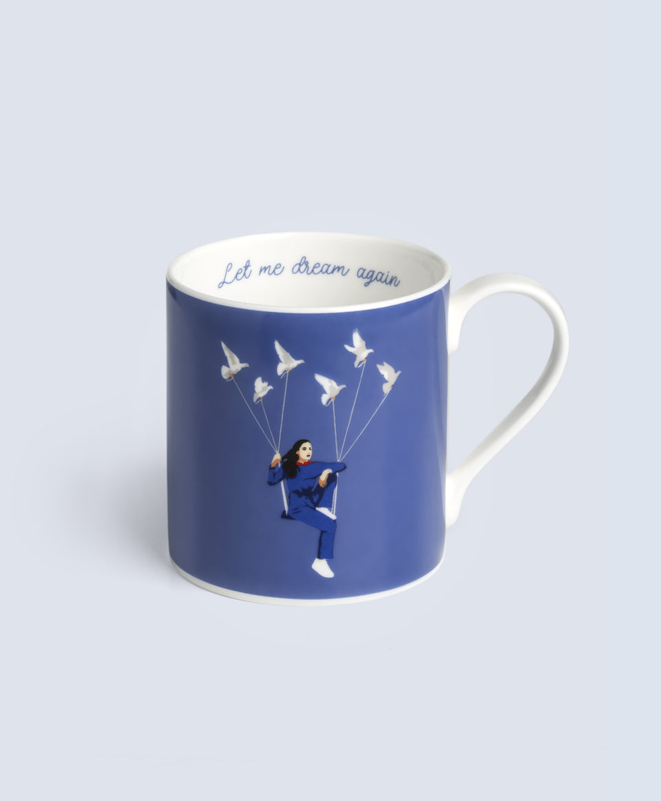 Jain Mug 'Let me dream again' Swing