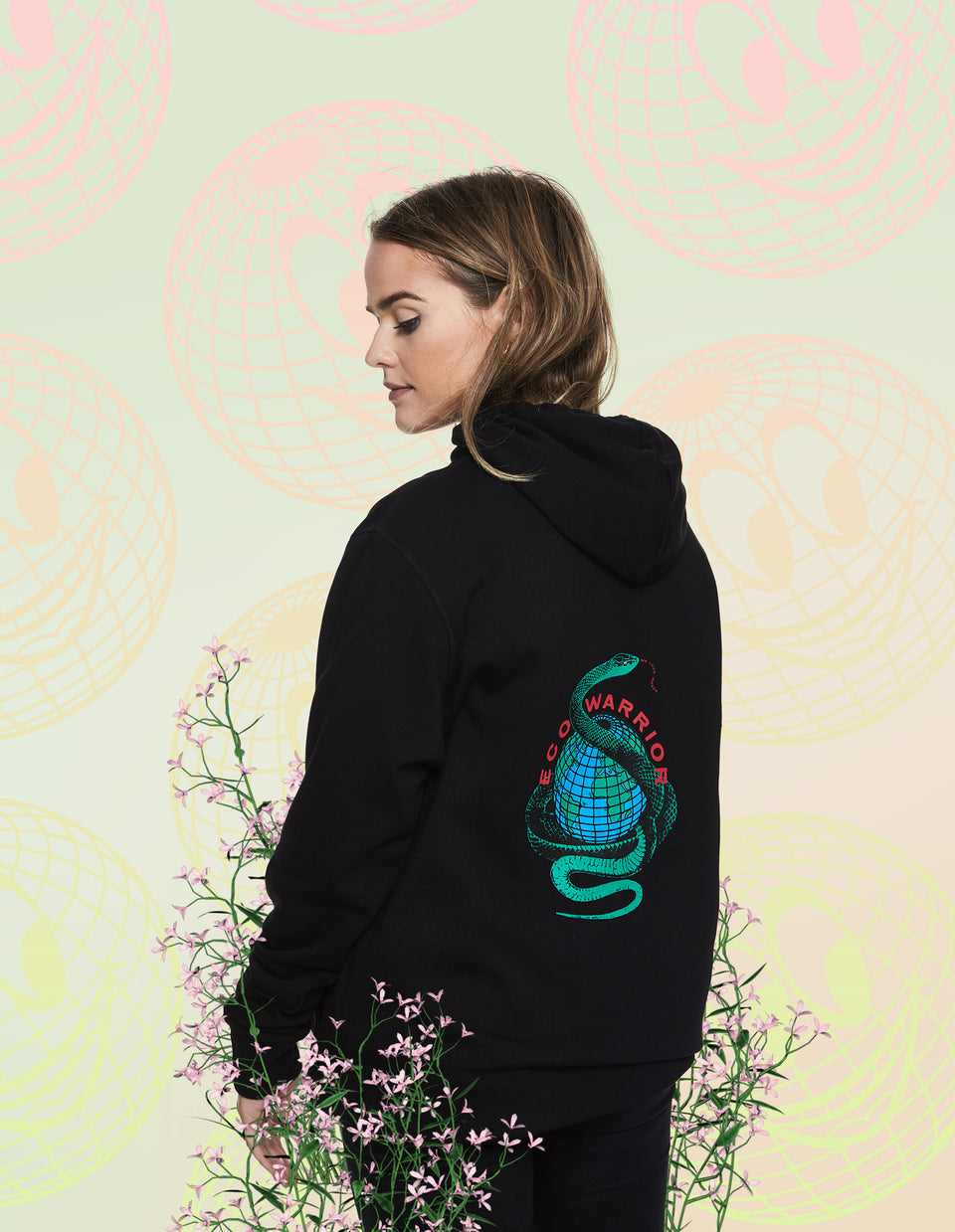 We Love Green Eco Warrior Hoodie