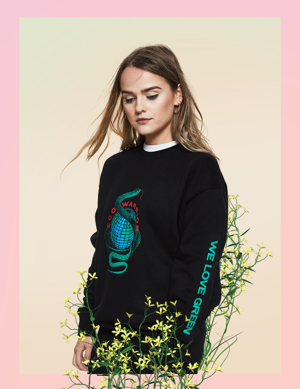 We Love Green Eco Warrior Sweater