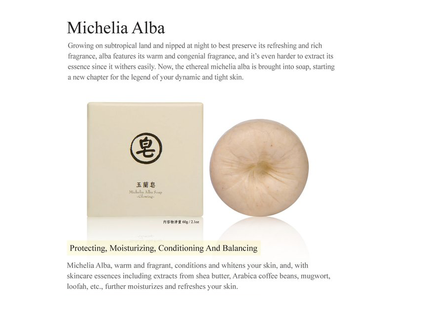 Michelia Alab Soap