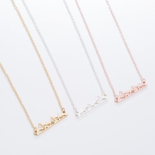 Stylish Mountain Necklace