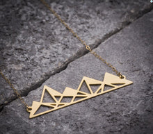 Load image into Gallery viewer, Stylish Mountain Necklace
