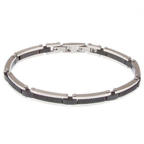 Related product : Bracciale modulare in Pvd nero