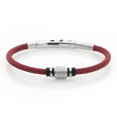Related product : Bracciale in sagola marina rossa