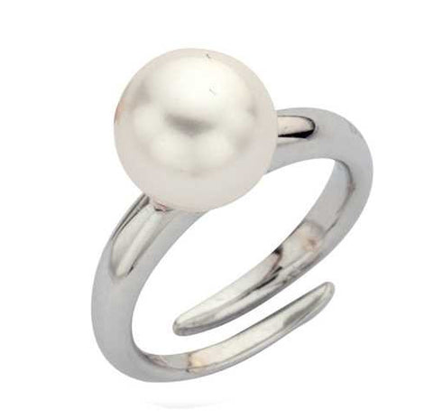 Related product : Anello in argento e perla Swarovski bianca