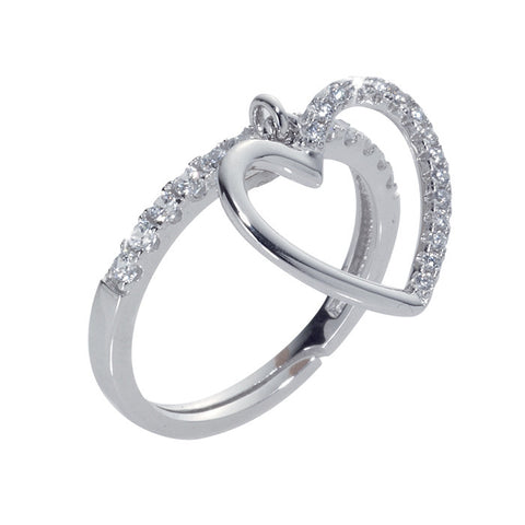Related product : Anello con pendente a cuore