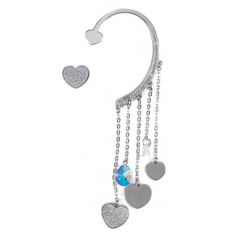 Related product : Ear cuff con cristalli Swarovski boreali