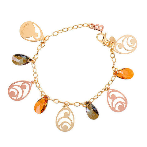 Related product : Bracciale in argento e cristalli Swarovski