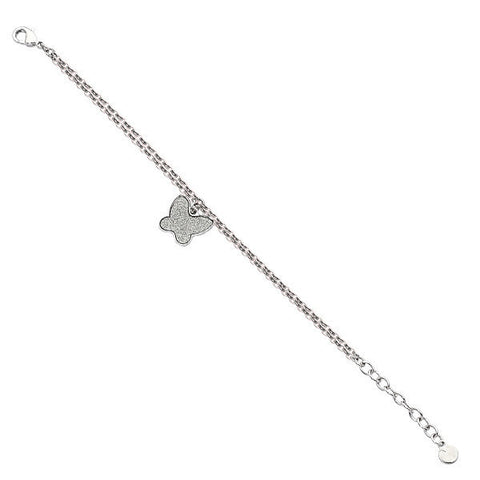 Related product : Bracciale con charm a farfalla