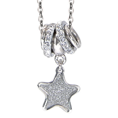Related product : Collana con pendente glitterato a stella
