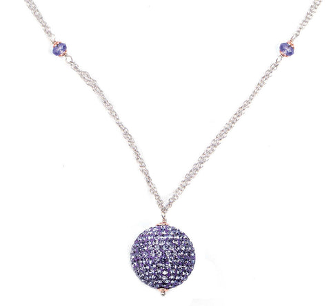 Related product : Collana in argento con boule tanzanite