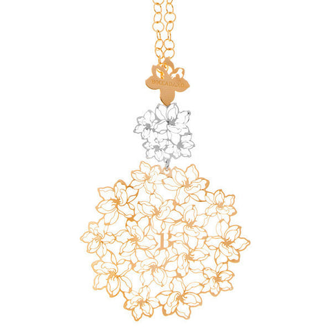 Related product : Collana in argento placcato oro giallo e rodiato