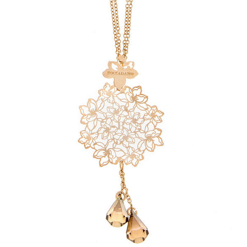 Related product : Collana in argento e Swarovski color bronzo