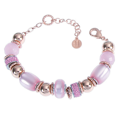 Related product : Bracciale con resina polaris rosa
