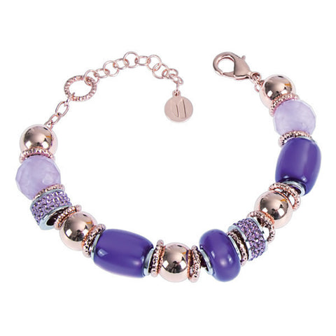 Related product : Bracciale con resina polaris viola