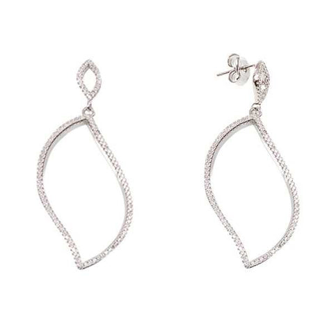 Related product : Orecchini in argento con pendente di zirconi