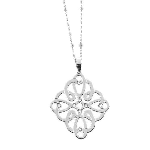 Related product : Collana con nodo infinito e Swarovski