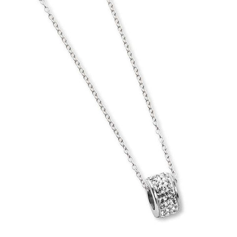 Related product : Collana con passante in strass boreali