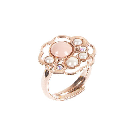 Related product : Anello rosato con nuvola di Swarovski