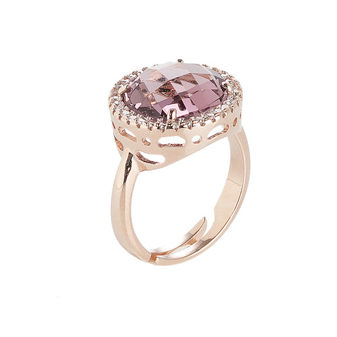 Related product : Anello con cristallo amethyst